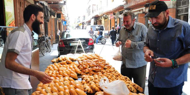 El Maarouk, dulce damasceno típico del Ramadán