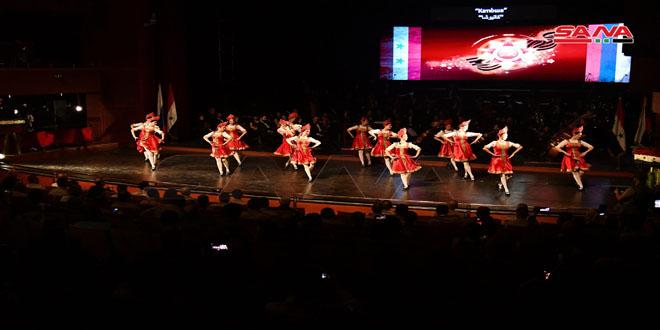 Ceremonia central en Siria por el 76 aniversario de la victoria de Rusia sobre el Nazismo
