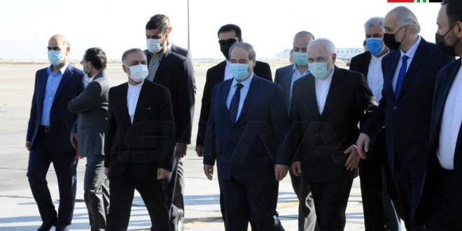 Canciller de Irán comienza visita a Damasco (+ fotos)