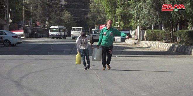 Esfuerzos gubernamentales para garantizar el agua potable a la población de Hasakah