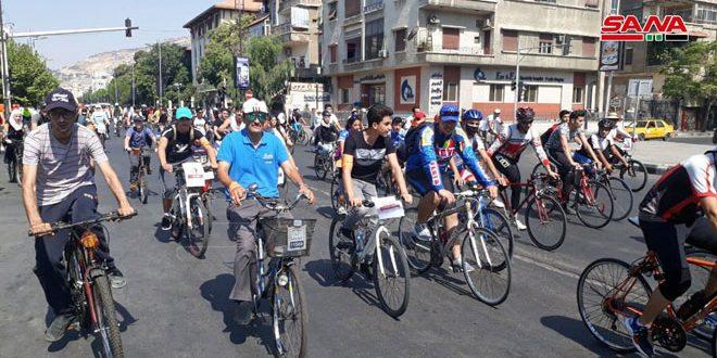Carrera ciclística en Damasco por la investidura del presidente Al-Assad(+ fotos)
