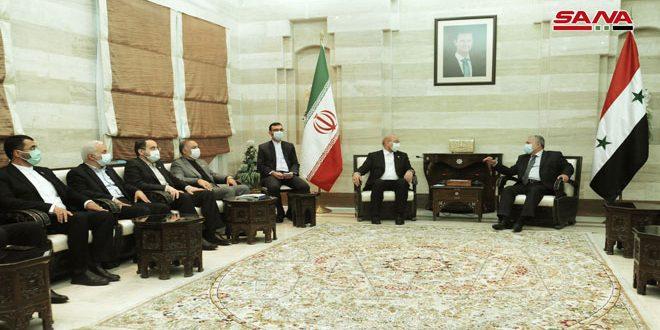 Arnous revisa con Presidente de la Shura iraní vías de impulsar el intercambio comercial