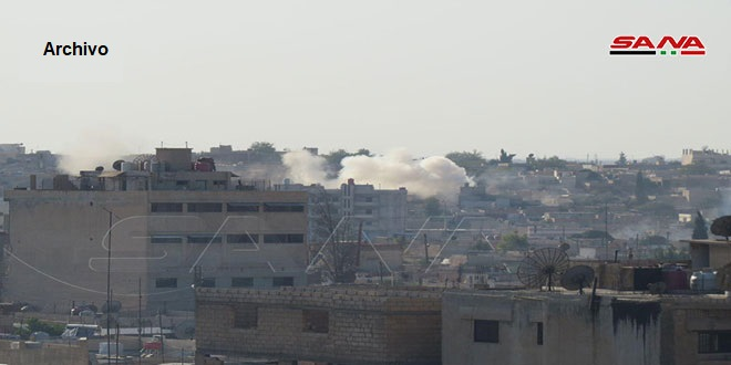 Ocupante turco bombardea la aldea de al-Dardara en provincia de Hasakeh