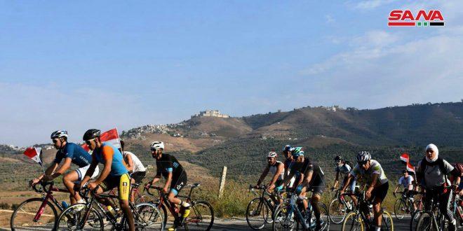 95 ciclistas participan en maratón del Festival del Castillo y el Valle en Homs (fotos)