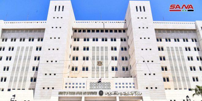 Siria condena campañas de incitación e hipocresía de Bretaña y la Unión Europea sobre la situación en Deraa
