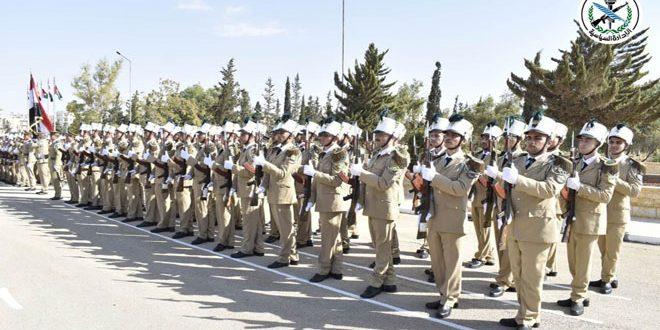 Siria gradúa nuevo grupo de cadetes de la Academia de Ingeniería Militar