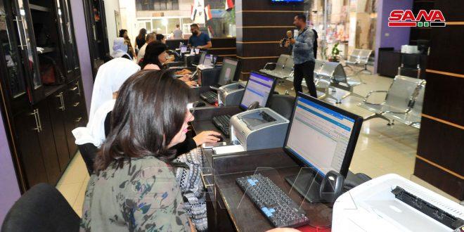 Ponen en marcha dos nuevos centros de servicios electrónicos en Deir Ezzor y Sweida
