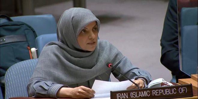 Irán insta en la ONU a poner fin a las medidas coercitivas unilaterales occidentales impuestas a Siria