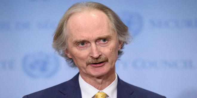 Pedersen anuncia fecha para la reunión del Comité Constitucional sirio en Ginebra