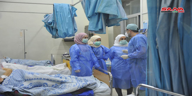 Siria reportó la cifra más alta de nuevos casos por Covid-19 durante los últimos meses