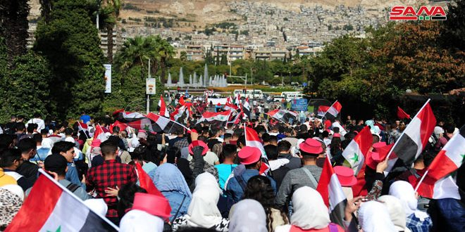 Video : Carnaval Estudiantil de la Universidad de Damasco