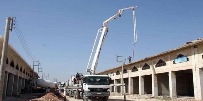 Rehabilitada la infraestructura de 410 terrenos industriales en Alepo