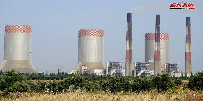 Técnicos sirios logran ahorrar 10 millones de euros al reparar el segundo grupo generador de la termoeléctrica al-Zara