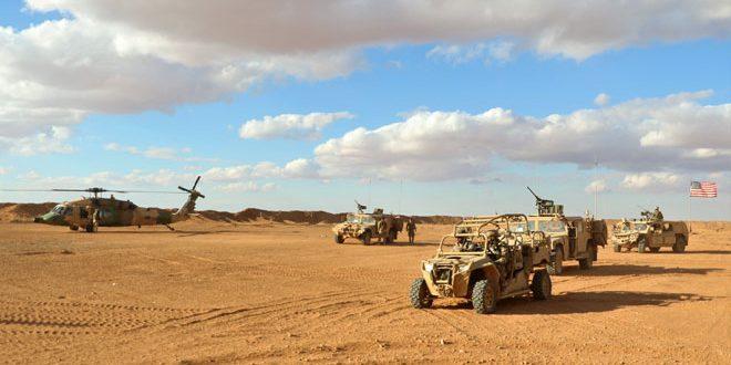 Confirman ataque con misiles y drones contra base estadounidense de al-Tanf en Siria