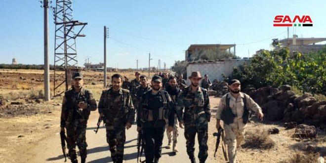 Ejército comienza a peinar dos localidades en Deraa tras entrega de armados