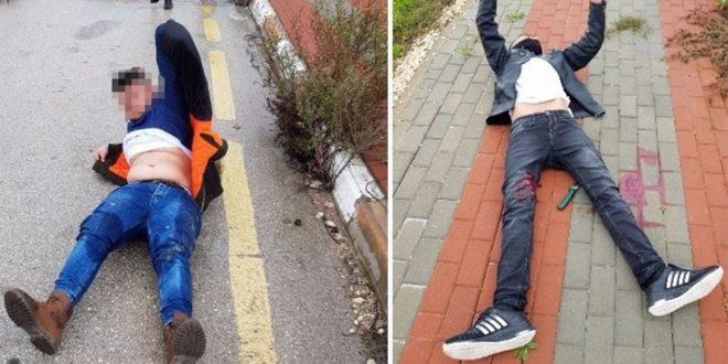 مجروح شدن دو فلسطینی به ضرب گلوله نظامیان اشغالگر در کرانه غربی