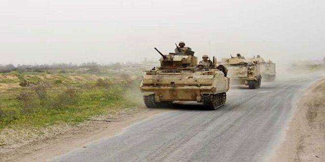 هلاکت 7 تروریست در عمليات ارتش مصر در سينا
