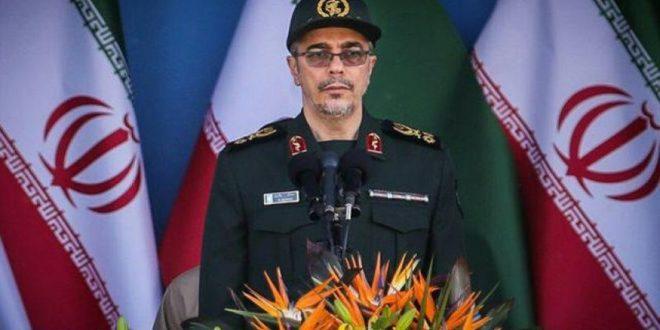 رئیس ستادکل نیروهای مسلح ایران:ارتش عربی سوریه حق دارد حومه دمشق ازتروریست ها پاکسازی کند