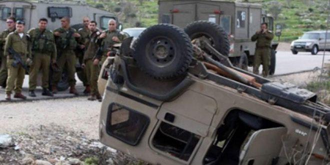 زخمی شدن 6 نظامی رژیم اشغالگر در نزدیکی نوار غزه