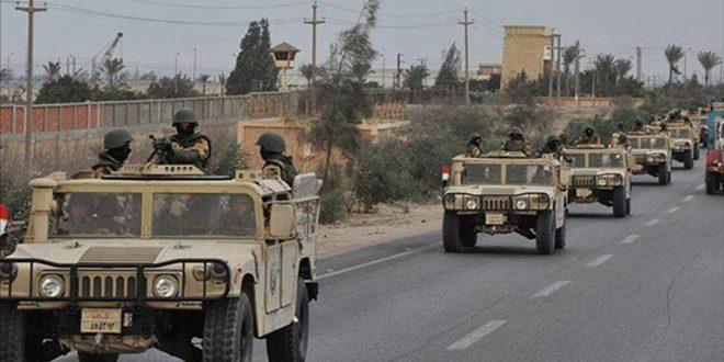 4 تروریست کشته و 417 دیگر در عملیات سیناء 2018بازداشت شدند