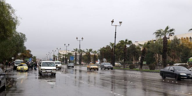ثبت رکورد 13میلی متر باران طی 24 ساعت در القنیطره