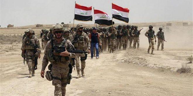 """نیروهای عراقی حمله تروریستی """"داعش """" به مناطق در جنوب غرب سامراء را ناگام گذاشت"""