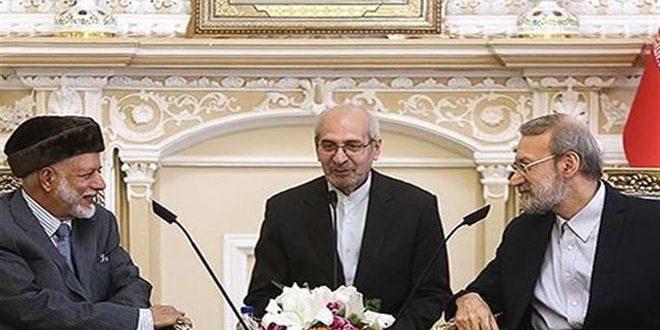 لاریجانی: ایران بر لزوم ایجاد راه حل سیاسی برای بحران در سوریه تاکید می کند