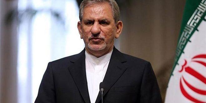 جهانگیری: با ملت ایران باید با زبان ادب و منطق سخن گفت نه تهدید