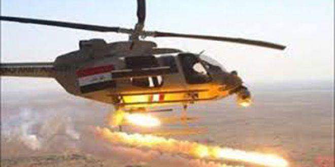 هلاکت 15 تروریست در شمال شرق استان دیالی در عراق