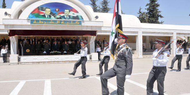 مراسم فارغ التحصیلی تعدادی از افسران و ماموران پلیس برگزار شد