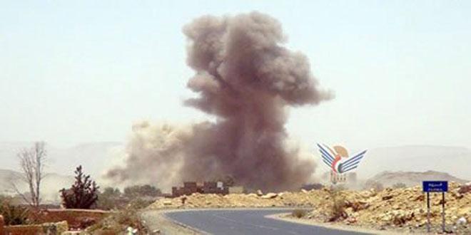 ائتلاف رژیم سعودی در ادامه تجاوز خود به یمن صعده و صنعاء را بمباران کرد