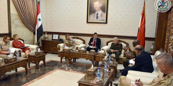 دیدار ژنرال ایوب با یک هیئت از سازمان ملل متحد