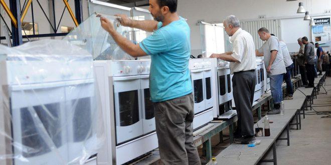 70 کارخانه صنعتی در منطقه تل کردی در ریف دمشق  به چرخه تولید بازگشت