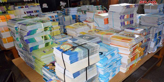 تحویل بیش از 32 هزار کتاب به مؤسسه عمومی چاپ و انتشار کتب درسی الحسکه