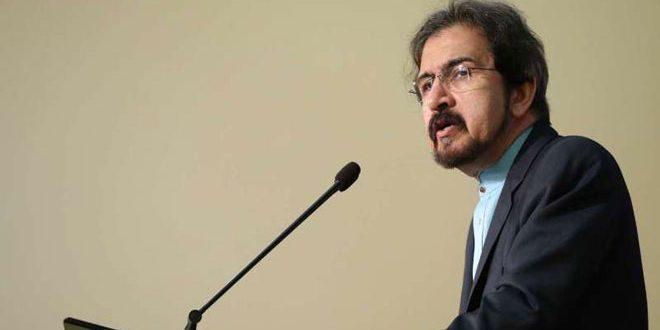 قاسمی: حضور آمریکا در سوریه غیرقانونی است