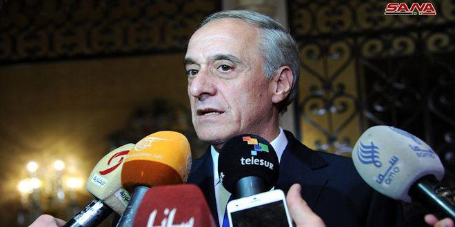 سوسان: دولت سوریه مصمم به آزادسازیتمام خاک خود از لوث تروریسم است