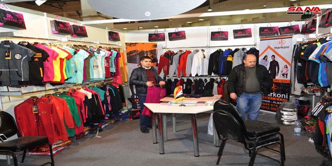 """نمایشگاه پوشاک """"ساخت سوریه""""…خاستگاهی برای ارائه کیفیت تولیدات سوری است"""