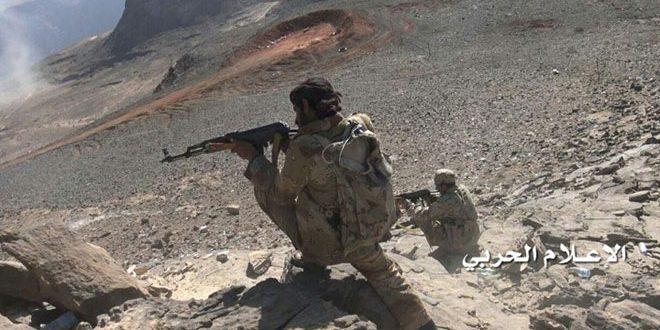 یمن: کشته شدن تعدادی از سربازان و مزدوران رژیم سعودی در جوف