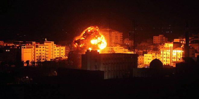 حملات مجدد جنگنده های اشغالگر صهیونیستی علیه نوار غزه