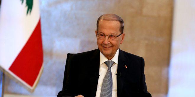 رئیس جمهور لبنان: به رسمیت شناختن ضمیمه کردن جولان اشغالی به سرزمین های رژیم صهیونیستی ناقض قانون بین المللی و قطعنامه های شورای امنیت است
