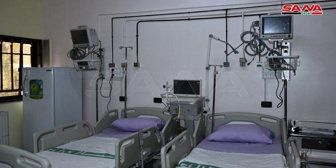 افتتاح بخش جراحی قلب بیمارستان ملی حماه