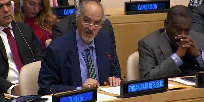 جعفری: سوریه به بستن پیمان همه جانبه به منظور ایجاد منطقه عاری از جنگ افزار هسته ای در خاورمیانه  را چشم دوخته است