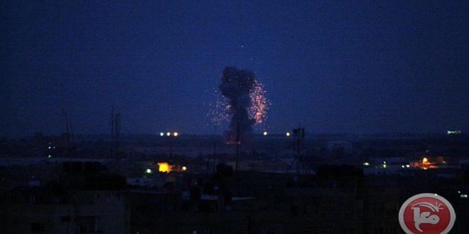 حمله هوایی رژیم صهیونیستی به مناطق در نوار غزه