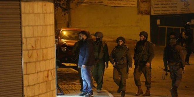 دستگیری 10 فلسطینی در کرانه باختری