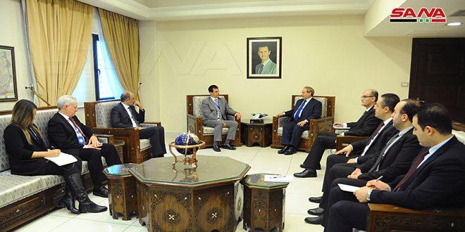 دیدار معاون وزیر امور خارجه کشورمان با کمیسر بخش ایمنی و امنیت سازمان ملل متحد در سوریه