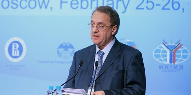 بوگدانوف: رژیم ترکیه انتقال تروریستها به لیبی را تسهیل میکند