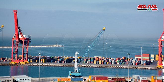 پهلوگیری 85 کشتی در بندر لاذقیه طی سه ماهه اول سال میلادی جاری