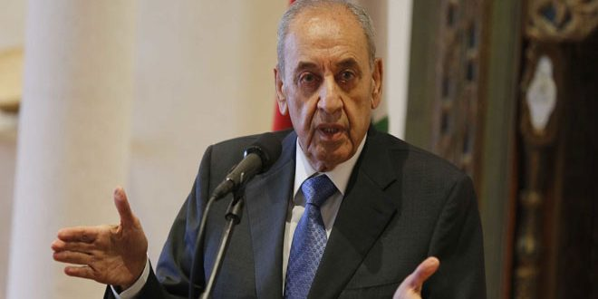 تاکید نبیه بری بر اهمیت روابط بین لبنان و سوریه