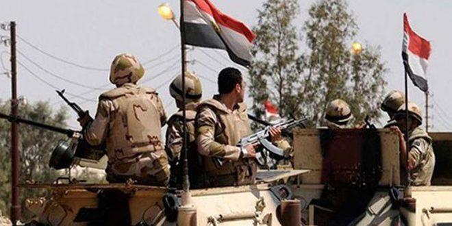هلاکت 21 تروریست به دست نیروهای امنیتی مصر در شمال سینا