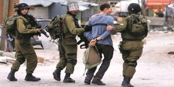 دستگیری 4 فلسطینی در کرانه باختری توسط نظامیان صهیونیست